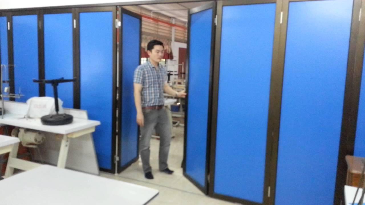 SLT METAL INDUSTRY Folding Door Accessories - Aluminium Composite Panel (Video)  sc 1 st  YouTube & SLT METAL INDUSTRY Folding Door Accessories - Aluminium Composite ...