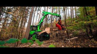 Lesný traktor EQUUS 175N Harvester