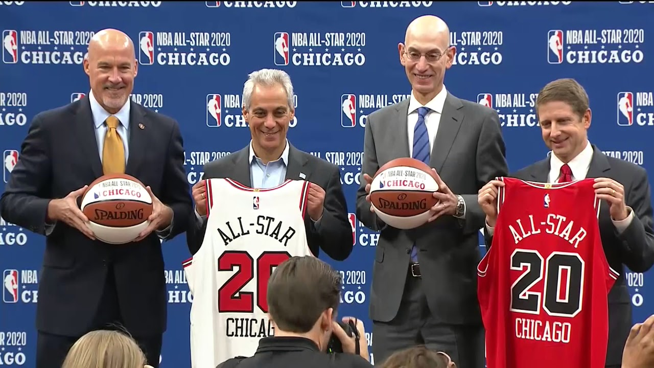 Nba All Star Weekend 2020 United States Illinois Chicago