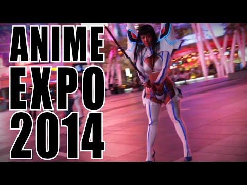 Anime Expo 2014 Cosplay VFX Video