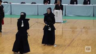 56th All Japan Women's Kendo Championships - QF 2