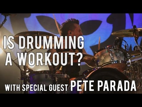 DRUMMING: HOW MANY CALORIES DO YOU BURN? with PETE PARADA of THE OFFSPRING