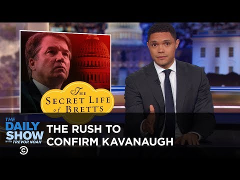 Смотреть GOP Pushes SCOTUS Vote Despite Sexual Misconduct Allegations Against Kavanaugh   The Daily Show онлайн