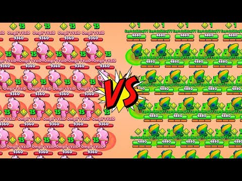 LEON VS SPIKE SUR BRAWL STARS GAMEPLAY LEGENDARY FIGHT !