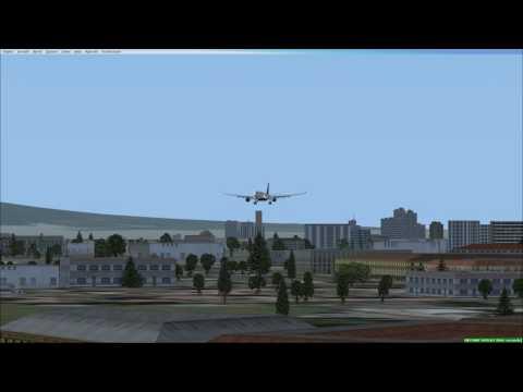 FSX 330-300 Landing into Fortaleza Brazil (SBFZ)