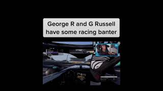 George Russell vs George Russell. F1 Funny moments! F1!