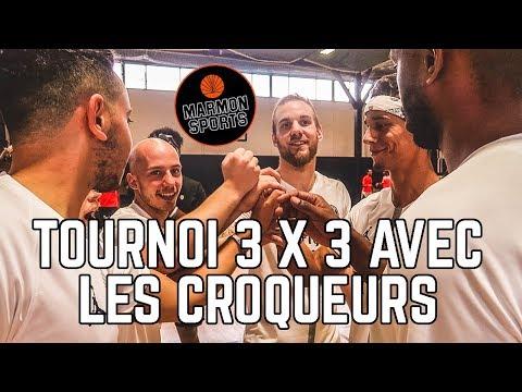 ON JOUE ENFIN ENSEMBLE ! TOURNOI 3 CONTRE 3 x Marmon Sports x Hoops Factory