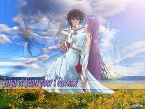 Seiya Y Saori Cosmo Del Amor