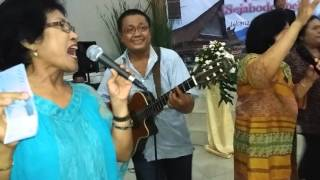"OPUNG BORU MARENDE ""Marragam-ragam ""Gitaris Ando Girsang/pesta Bona Taon ONIH"