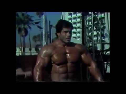 Редкое видео тренировки Франко Коломбо к М.О. 1981 Franco Columbu - Training For Mr. Olympia 1981