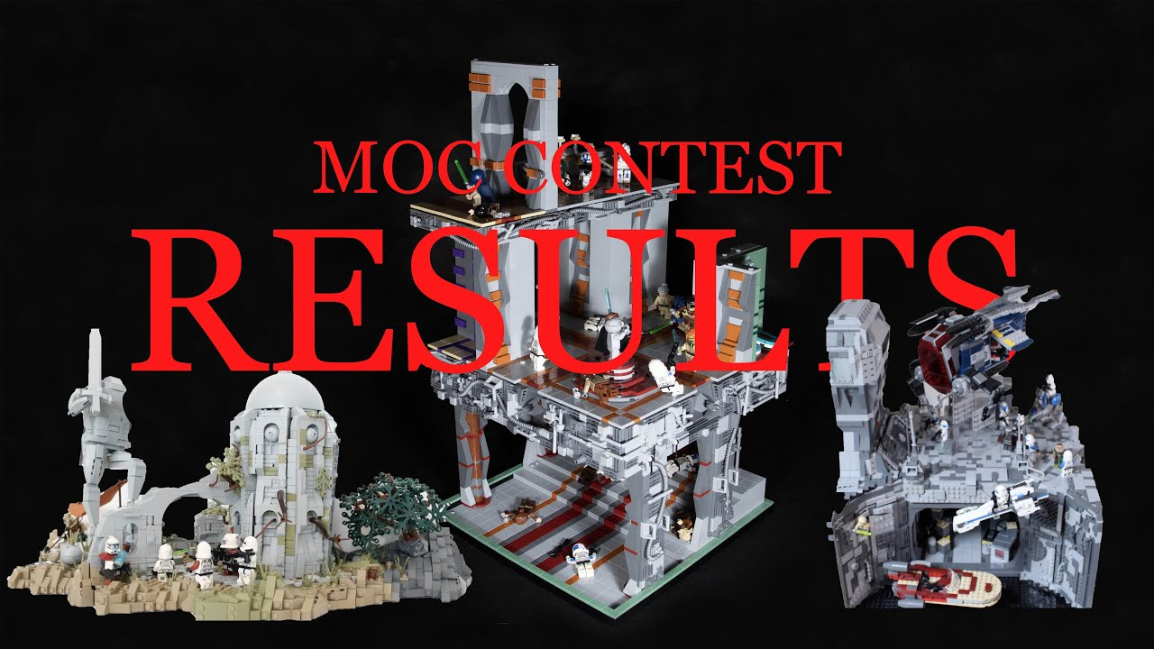 LEGO Star Wars Moc contest results !! (TOP 20)