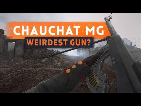 ► THIS GUN IS WEIRD! Chauchat - Battlefield 1 They Shall Not Pass DLC
