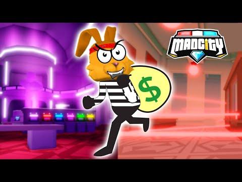 НОВОЕ ОГРАБЛЕНИЕ МЭД СИТИ: Банк! Казино! Обнова Mad City Roblox