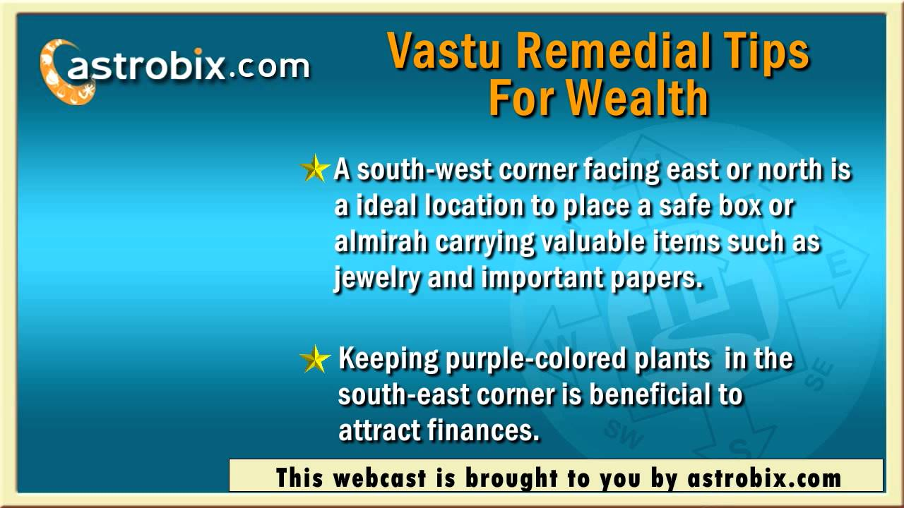 vastu shastra remedies for health, wealth, married life and study
