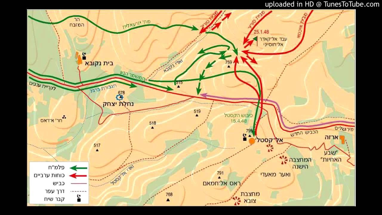 קרב הראל - שלישיית גשר הירקון