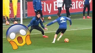 Cristiano Ronaldo Amazing Goal During Real Madrid Training | 1080p HD