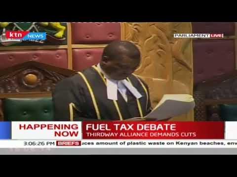 Fuel tax debate : MPs to debate financial bill 2018