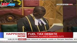 Fuel tax debate : MPs to debate financial bill 2018