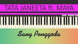Download Mp3 Tata Janeeta Feat. Maia Estianty - Sang Penggoda  Karaoke Acoustic  By Regis