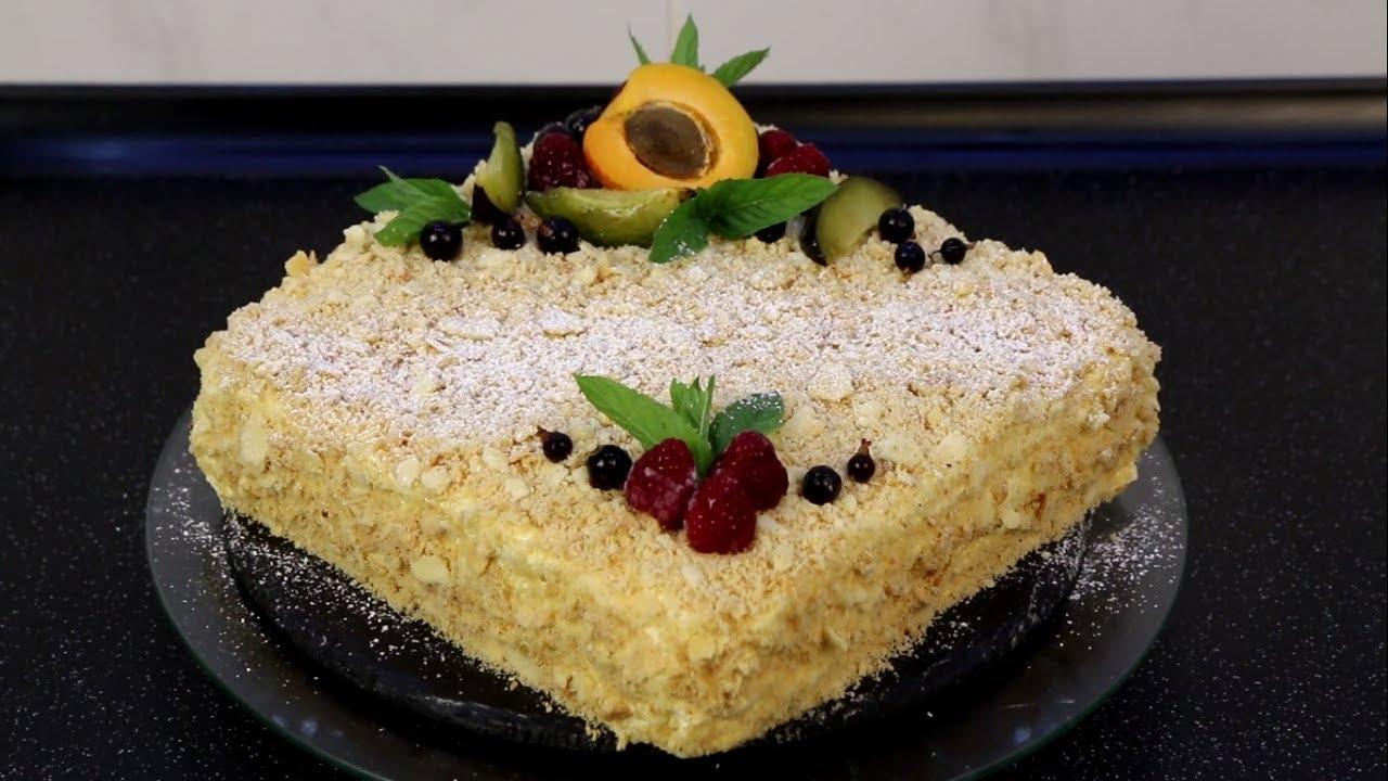 """Самый вкусный Торт """"Наполеон""""."""