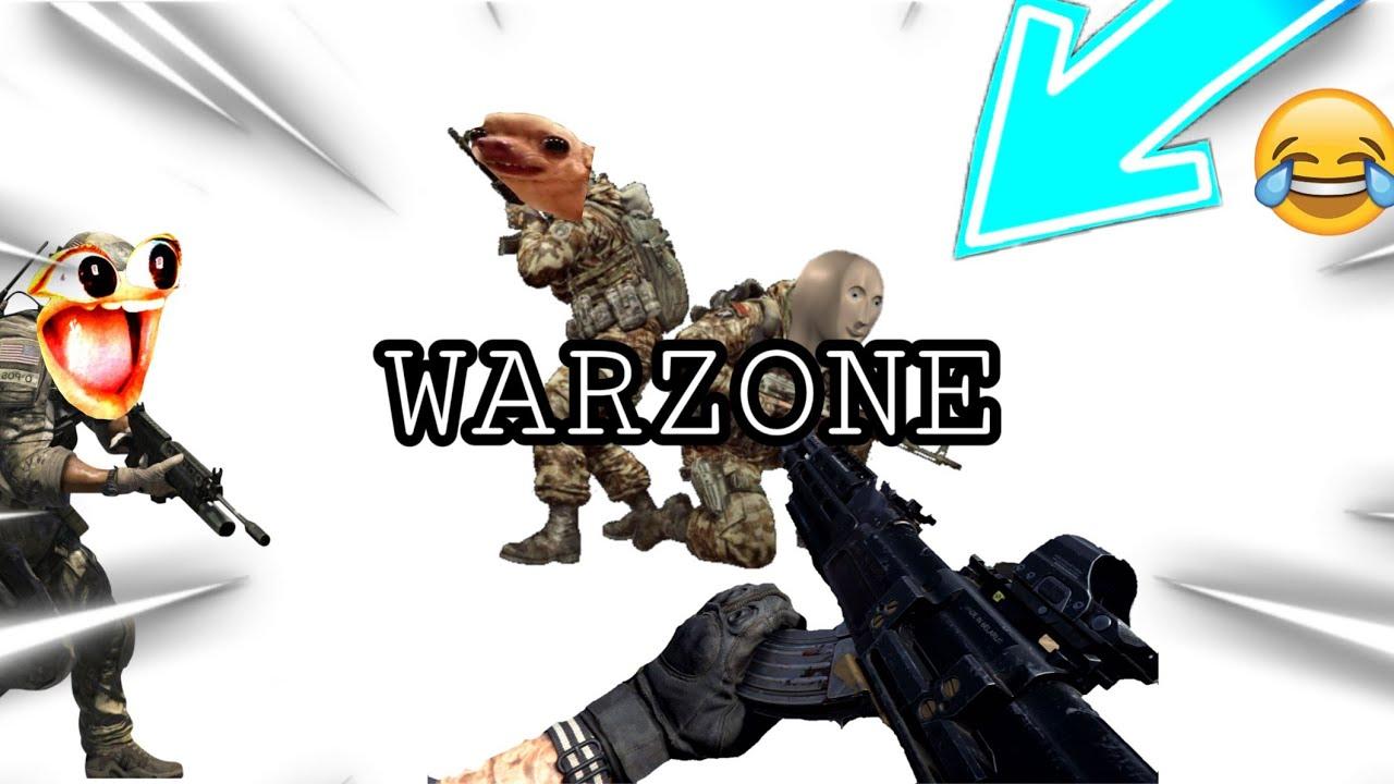 Memes In The New Warzone Mode In Cod Modern Warfare Youtube