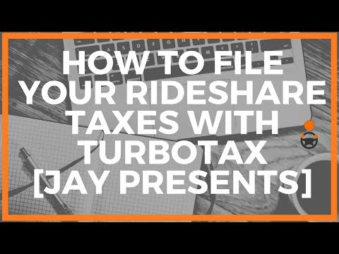 How To File Your Uber & Lyft Driver Taxes Using TurboTax [Jay
