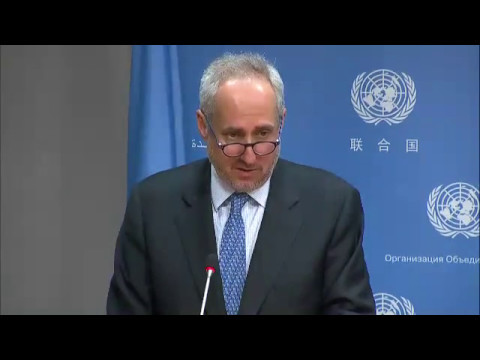 UN Chief calls for an end to 'tragedy' in South Sudan & other topics (Daily Briefing 12 May 2017)