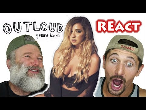 Is Gabbie A Musician WANABE??! Montana Guys React -Out Loud (Lyric Video)