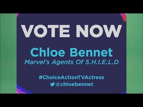Chloe Bennet - 2018 Teen Choice Awards Nomination