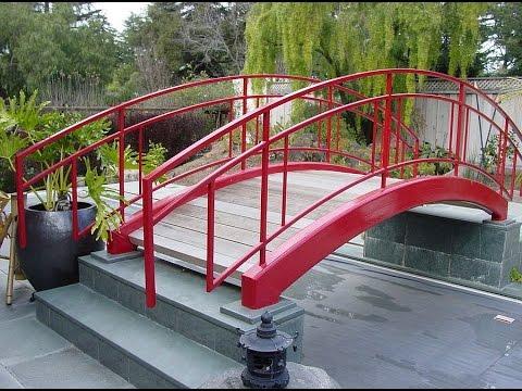 Dreamy And Delightful Garden Bridge Ideas