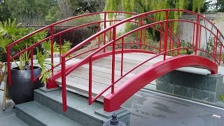1. Small Garden Bridges When it comes to garden bridges, space is definitely not a constraint, and even the smallest of gardens can