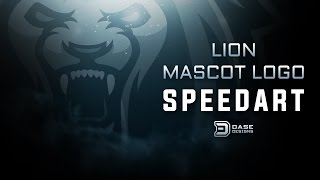 Lion Mascot Logo Design | Adobe Illustrator SpeedArt