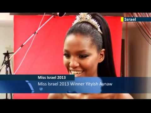 Video Miss Israel 2013  Yityish Aynaw  YouTube