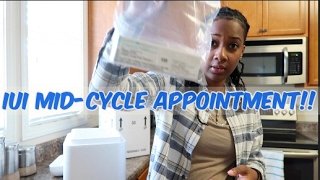 IUI Mid-Cycle Appointment |  TTC Journey Episode 4