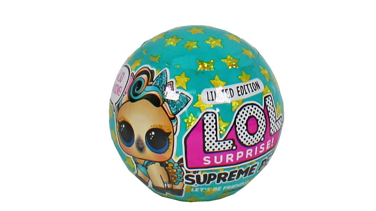 L.O.L Surprise Supreme Pet Limited Edition Lucky Luxe Pony