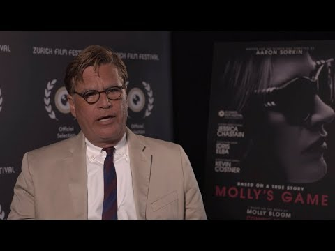 Interview Aaron Sorkin – MOLLY'S GAME at Zurich Film Festival