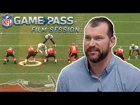 The Art of Run and Pass Blocking Broken Down by Joe Thomas  NFL Film Sessions