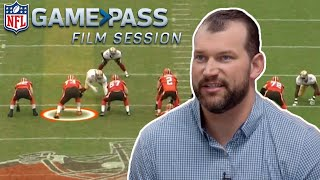 The Art of Run and Pass Blocking Broken Down by Joe Thomas | NFL Film Sessions