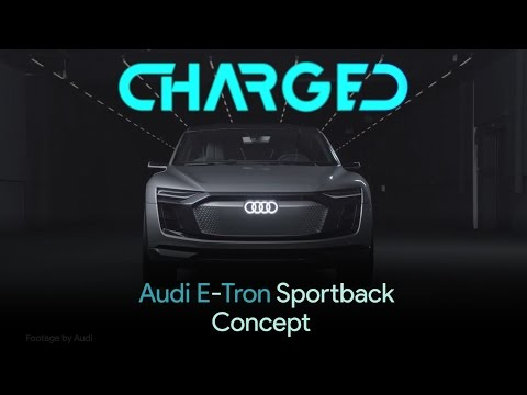 Audi's futuristic E-Tron Sportback concept EV officially announced