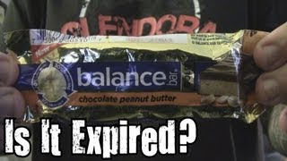Is It Expired? - Balance Bar Chocolate Peanut Butter