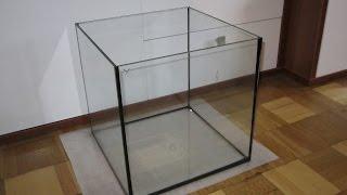 Урок поклейки аквариума-кубика