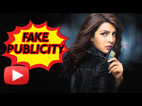 Watch: Priyanka Chopra's FAKE Publicity Acts In Hollywood