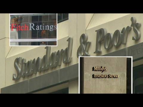 Ratings agencies' role in the crisis