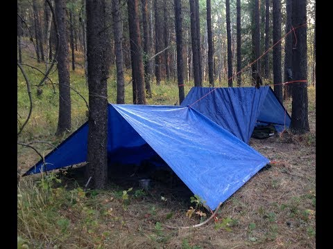 Summer Overnight Hunting And Bushcraft Camp