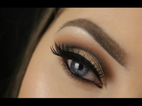 Too Faced Chocolate Bar Palette | Golden Brown Smokey Eye