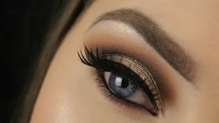 Too Faced Chocolate Bar Palette | Golden Brown Smokey Eye