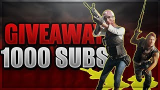 PUBG and others!!! Giveaway 1000 subs