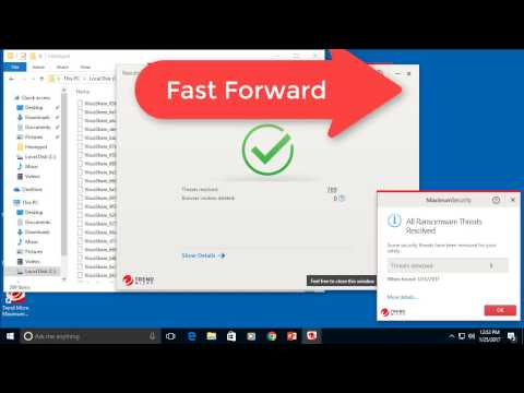 Trend Micro Review 2017: Malware Detection Test