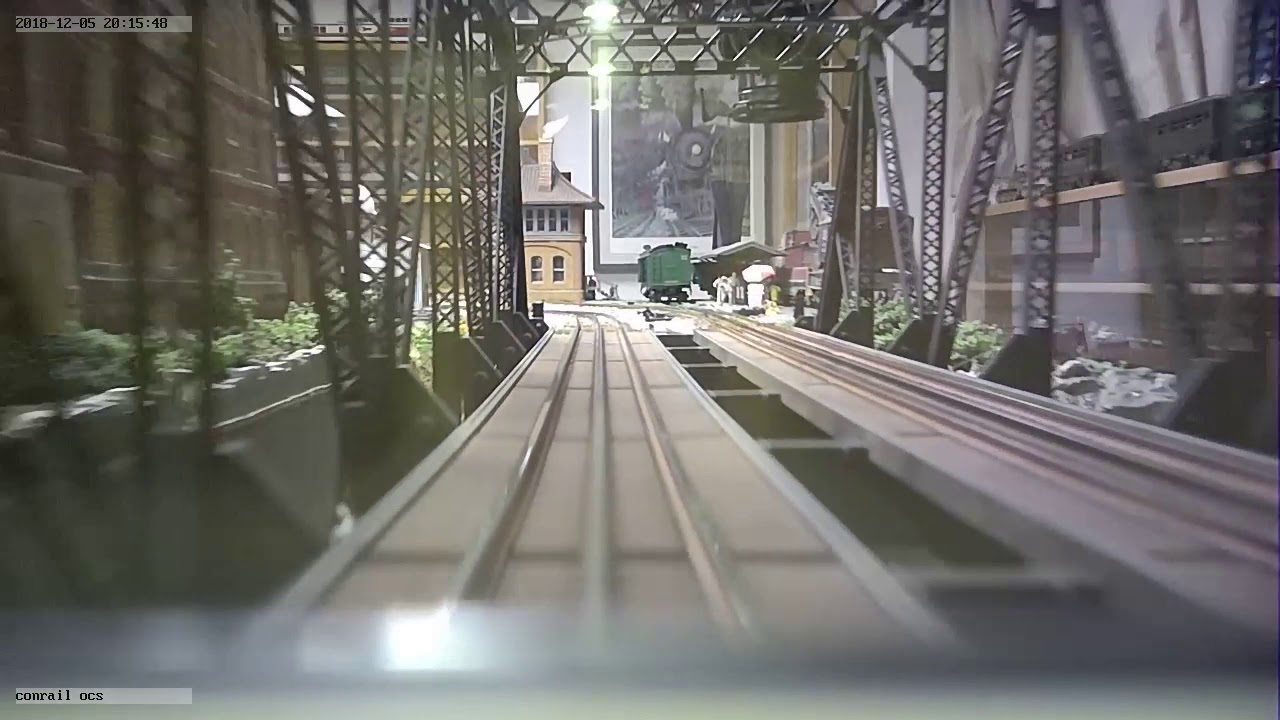 Lionel Conrail Theater CAR W Camera