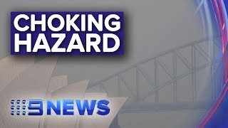 Major health warning issued as smoke settles over Sydney | Nine News Australia